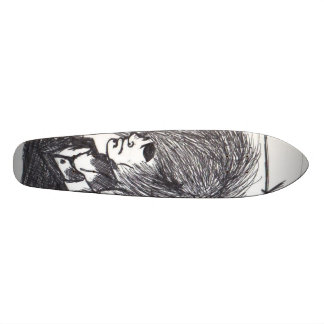 I Cut My Hair With A Chainsaw. Skateboard Deck