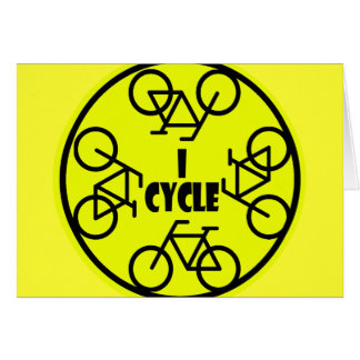 I CYCLE (BICYCLE) CARD