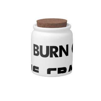 I cycle to burn off the crazy, bicycle candy jars
