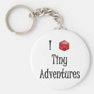 I d20 Tiny Adventures keychain