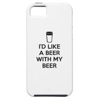 I'd Like A Beer With My Beer iPhone SE/5/5s Case