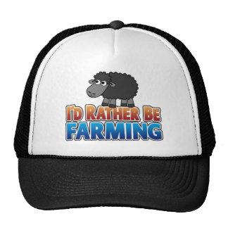 I d Rather be Farming Mesh Hats