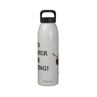 I d Rather Be Fishing liberty water bottle