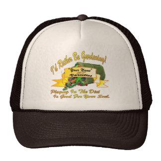 I'd Rather Be Gardening! Trucker Hat