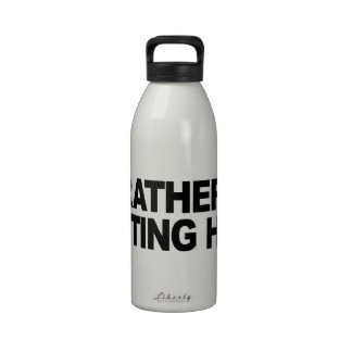I d Rather Be Getting High Water Bottle