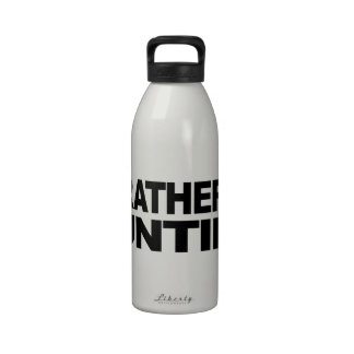 I d Rather Be Hunting Water Bottle