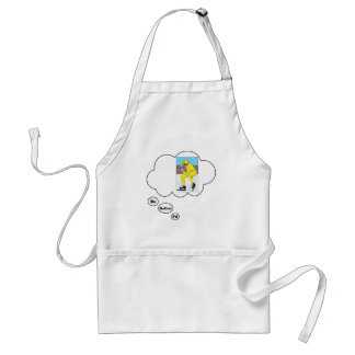 I d rather be Ice Skating 2 Apron