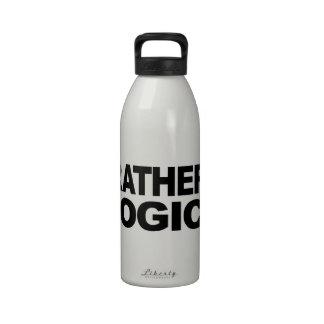 I d Rather Be Illogical Drinking Bottle