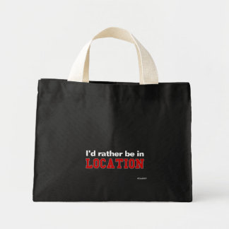 I d Rather Be In Canvas Bags