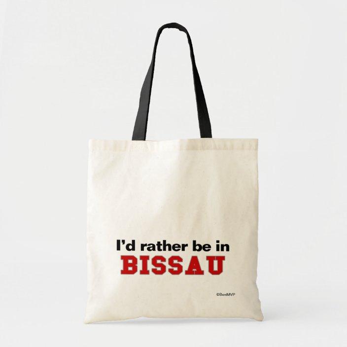 I'd Rather Be In Bissau Bag