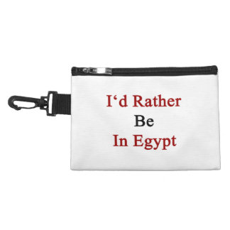 I d Rather Be In Egypt Accessory Bags