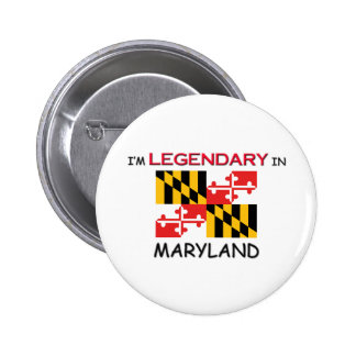 I d Rather Be In MARYLAND Pinback Buttons
