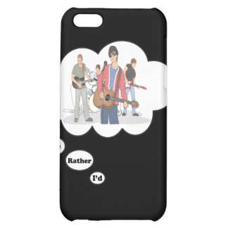 i d rather be Jammin iPhone 5C Cover