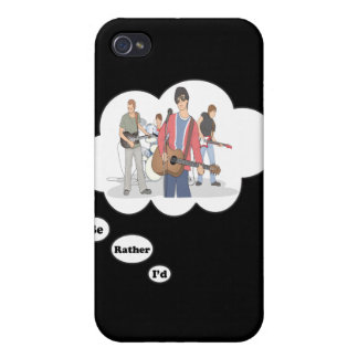 i d rather be Jammin iPhone 4 Cover