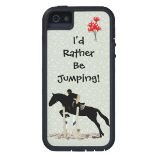 I d Rather Be Jumping Horse iPhone 5 Case