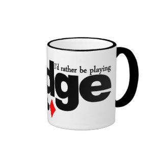 I d Rather Be Playing Bridge mug - choose style