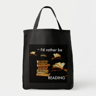 I d rather be READING Tote Bag
