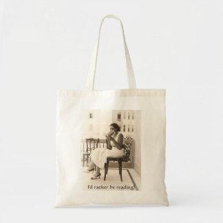 I d Rather Be Reading - Bag
