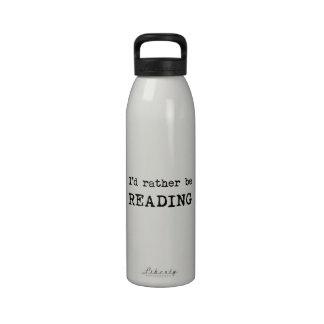 I d Rather Be Reading Drinking Bottles