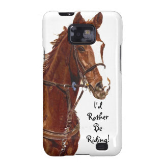 I d Rather Be Riding Horse Case-Mate Case Samsung Galaxy S Cover
