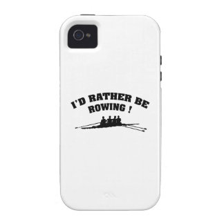 I d Rather Be Rowing Case For The iPhone 4
