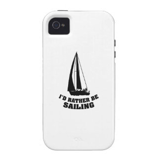 I d Rather Be Sailing Case-Mate iPhone 4 Covers