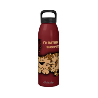 I d Rather Be Sleeping Reusable Water Bottle