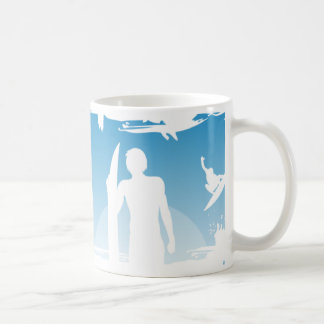 I d Rather be Surfing Mugs