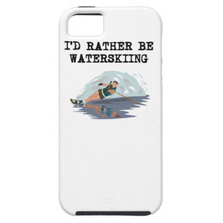 I d Rather Be Waterskiing iPhone 5/5S Case