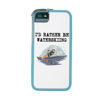 I d Rather Be Waterskiing iPhone 5 Cases