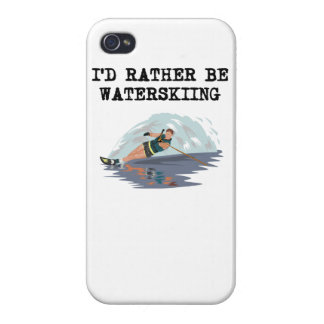 I d Rather Be Waterskiing Covers For iPhone 4