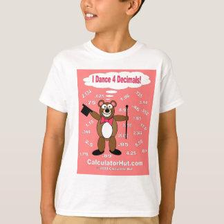 I Dance 4 Decimals T-Shirt
