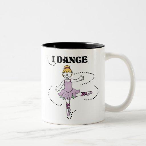 I Dance Ballerina Mugs