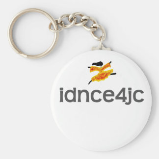I Dance For Jesus Christ Keychain