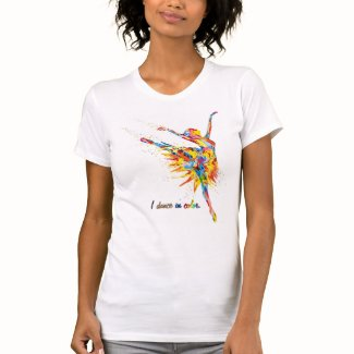 I dance in color T-Shirt