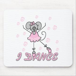 I Dance Mouse Ballet Mousepad