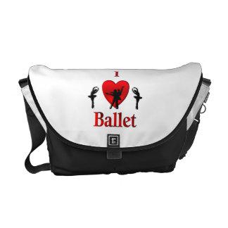 I danza del ballet del corazón bolsas de mensajeria