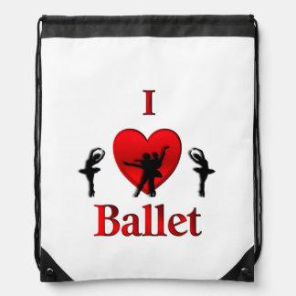 I danza del ballet del corazón mochila
