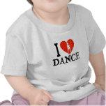 I danza del corazón - chica 2 camiseta