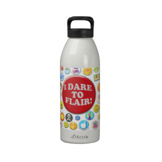 I Dare To Flair Reusable Water Bottle