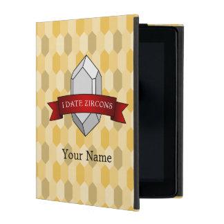 I Date Zircons Banner iPad Folio Case