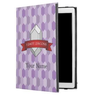 """I Date Zircons Banner iPad Pro 12.9"""" Case"""