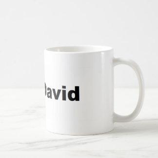 I ♥ David Coffee Mug