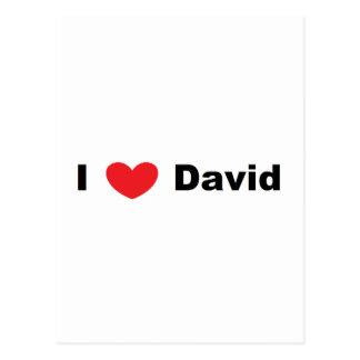I ♥ David Postcard