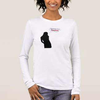 I daydream about Vampires Long Sleeve T-Shirt
