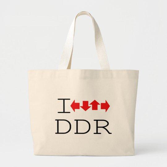 I DDR LARGE TOTE BAG