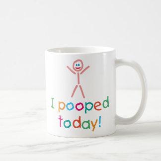 I de Pooped diversión hoy Tazas