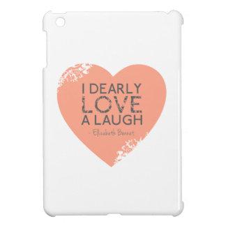 I Dearly Love A Laugh - Jane Austen Quote iPad Mini Cover