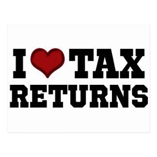 I declaraciones de impuestos del corazón postal