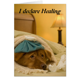 I declare Healing Card